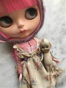 Antique Kewpie Doll - Made in Japan