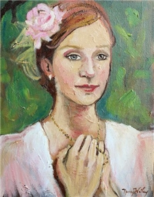 Lady In Pink - 11x14 - PROMO PRICING