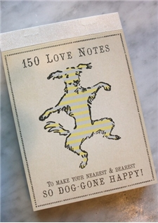 An Official Love Notes Pad