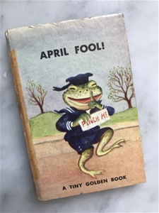 April Fool! - Vintage Mini Book