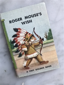 Roger Mouse's Wish - Vintage Mini Book