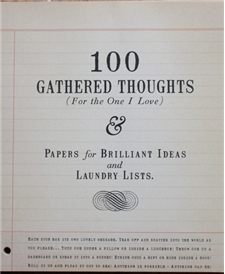 Gathered Thoughts - To One I Love