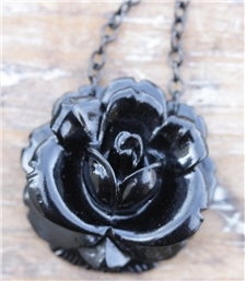 Mini Rose Black