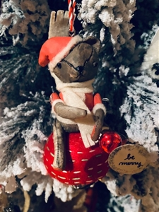 Very Merry Santa Teddy – SALE