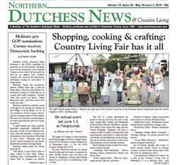Northern Dutchess News Cover - June 2018